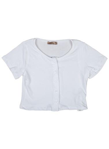 Puledro Bluz Beyaz
